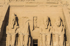 The Great Temple of Abu Simbel, Egypt Stock Photography