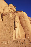 The Great temple of Abu Simbel, Nubia Royalty Free Stock Photography