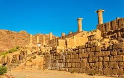 The Great Temple of Petra, Jordan Stock Image