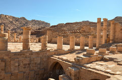 Great Temple, Petra Stock Photography