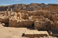 Great Temple, Petra Stock Photo