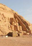 The Great Temple of Ramesses II. Abu Simbel, Egypt. Stock Images