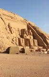 The Great Temple of Ramesses II. Abu Simbel, Egypt. Stock Photo