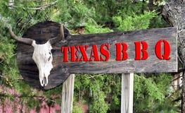 Great Texas BBQ. Royalty Free Stock Photo