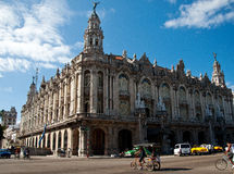 Great Theater in Havana, Cuba Royalty Free Stock Photos