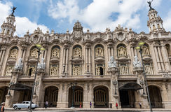 Great Theater of Havana Stock Image