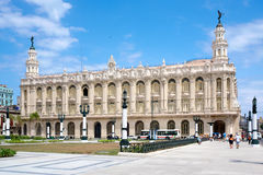 The Great Theater of Havana on a sunny day Royalty Free Stock Photography