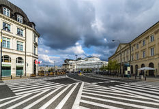 Great Theater and Polish National Opera in Warsaw Royalty Free Stock Photography