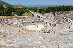 Great Theatre of Ephesus, Turkey Royalty Free Stock Photography