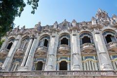 Great Theatre of Havana Stock Images