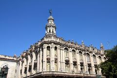 Great Theatre of Havana, Cuba Stock Photography