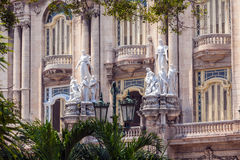 Great Theatre, old town, Havana Royalty Free Stock Photos