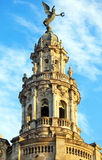 Great Theatre Top after Sunrise, Old Town, Havana Stock Photos