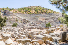 Great Theatre in Turkey. Royalty Free Stock Photos