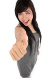 Great thumb up Stock Photo