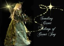 Great Tidings of Great Joy Royalty Free Stock Image