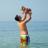 A great time at the beach! Royalty Free Stock Photo