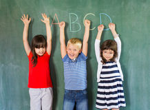 Great time in the classroom Royalty Free Stock Photo