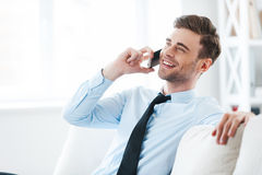 It is great to hear from you! stock image