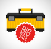 Great tools for sale Royalty Free Stock Photos
