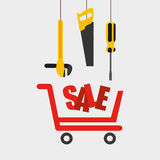 Great tools for sale Royalty Free Stock Photo