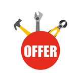 Great tools for sale Royalty Free Stock Image