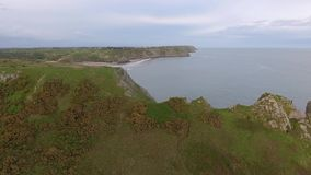 The Great Tor at Gower stock footage