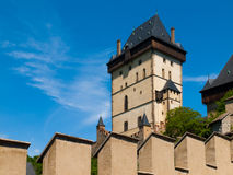 Great Tower of Karlstejn Castle Stock Photography