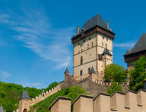 Great Tower of Karlstejn Castle Stock Photos
