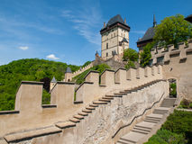 Great Tower of Karlstejn Castle Stock Images