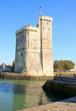 The great tower of La Rochelle (Charente Maritime, France) Stock Photography