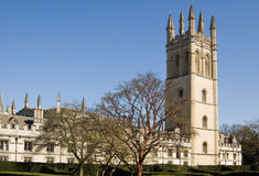Great Tower of Magdalen College, Oxford Stock Photo