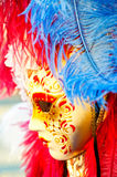Great traditional venetian mask Stock Photos