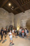 Great Treasury room, Palais des Papes, Avignon, France Stock Images