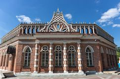 Great Tsaritsyn Palace in museum-reserve Tsaritsyno. MOSCOW, RUSSIA - JUNE 16, 2018: Great Tsaritsyn Palace in museum-reserve Tsaritsyno stock photos