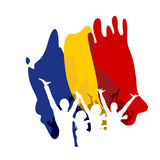 Great Union Day in Romania Royalty Free Stock Photo