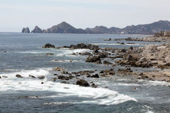 Great view in Cabo San Lucas Royalty Free Stock Images