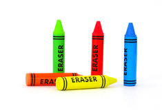 Great View Erasers Royalty Free Stock Photo