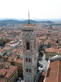 Great view of Florence city from above Stock Photos