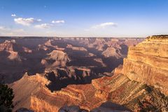 Great view on Grand Canyon Royalty Free Stock Photo