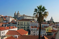 Great view of Lisbon from above Stock Photos