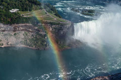 Natural,beautiful view of Niagara falls horseshoe Stock Photo