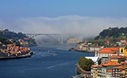 Great view of Porto from a hill Royalty Free Stock Photography