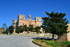 Great View of Selmun Palace in Malta Stock Photos