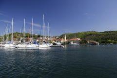 Great view at Skradin, Croatia Stock Photos