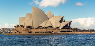 Sydney Opera House. On a pretty day in Australia Royalty Free Stock Photos