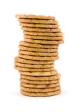 Great view wheat crackers Royalty Free Stock Photography