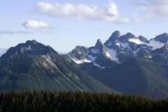 Great views of Mount Rainier Royalty Free Stock Photos
