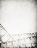 Great vintage filmstrips background. With space for your text and image Royalty Free Stock Photo