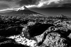 The great Volcano Royalty Free Stock Images